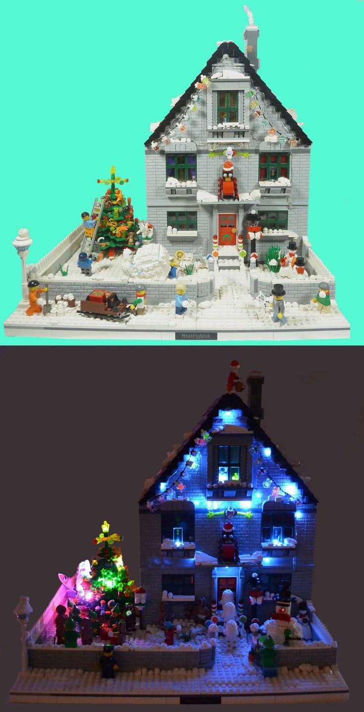 Real Life Lego House Best 25 Lego Christmas Village Ideas Only On Pinterest Lego
