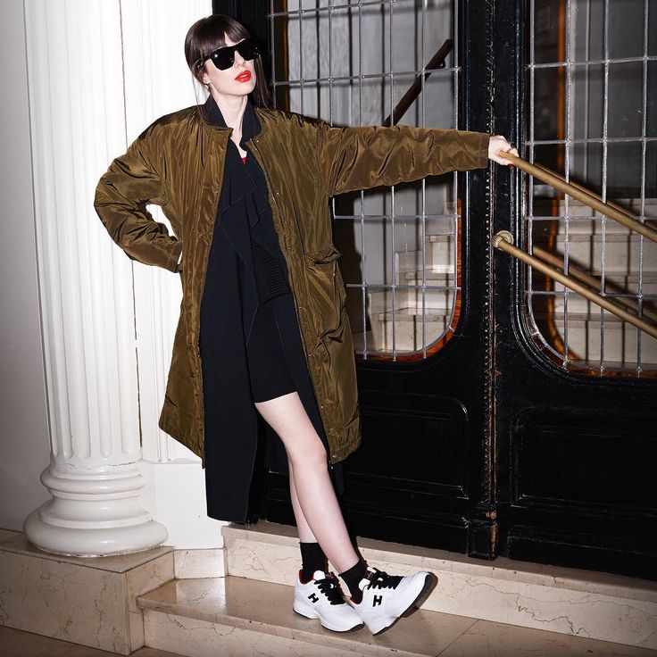 Modern women never stop Natalia  Ferviu wears #SS16 #Interactive #HoganClub #sneakers  Join the #HoganClub #lifestyle and share with us your @hoganbrand pictures on Instagram