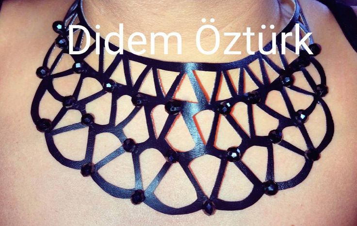 """New Creation Leather Cut Out for my lovely winner  @mrs.blxck_ #art #artist #brijou #bracelet #bilezik #didemoeztuerk #diybracelet #diy #doityourself…"""
