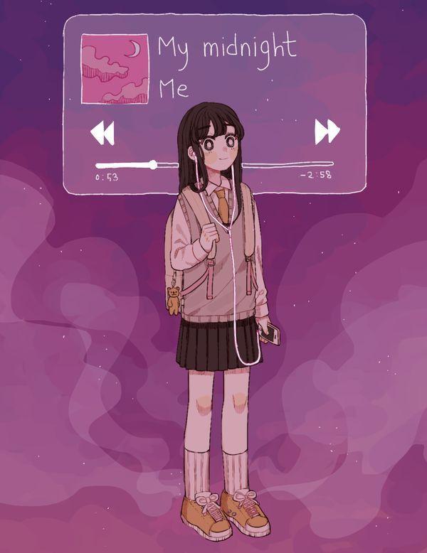 Pin By 𝓘𝓼𝓻𝓪 𝓪 On B Kawaii Art Aesthetic Anime Cute Art Styles