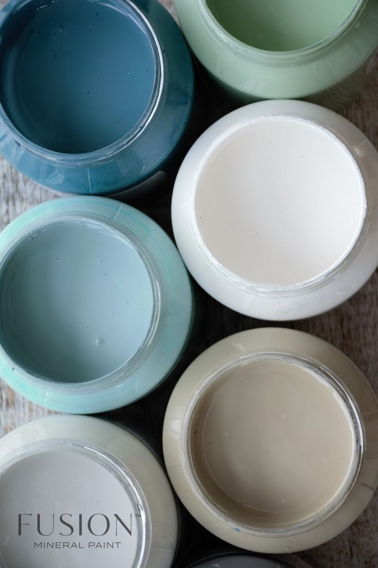 Virtually odourless you can dig right into the creamy, matte finish! fusionmineralpaint.com