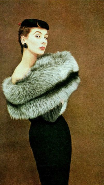 Fur in the 1950's