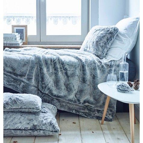 1000 ideas about plaid fausse fourrure on pinterest beds drap and indoor - Grand plaid fausse fourrure ...