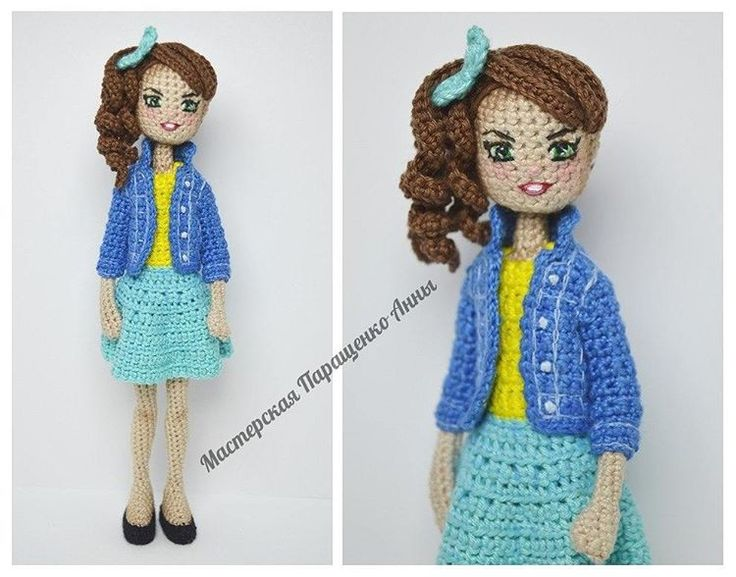 Amigurumi Doll Anime : Pattern pack japanese anime school girl amigurumi doll