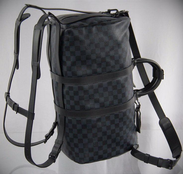 LOUIS VUITTON Damier Keepall 45 A À Dos Backpack Boston Bag Travel Duffel N23361 #LouisVuitton