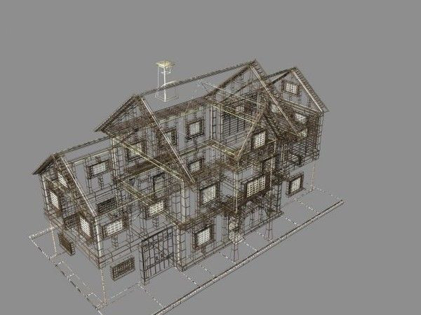 Model medieval house plans