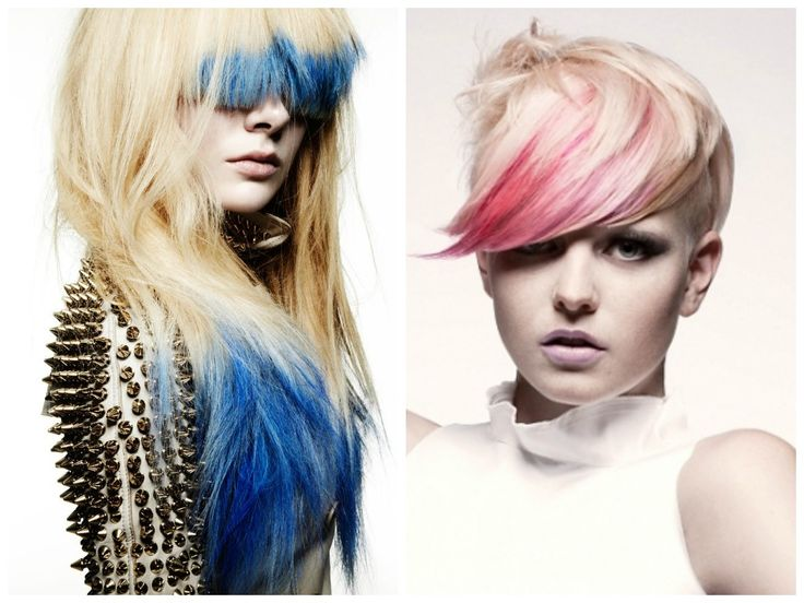 17 Best Ideas About Dyed Bangs On Pinterest  Crazy Colour Hair Dye Blue Hai
