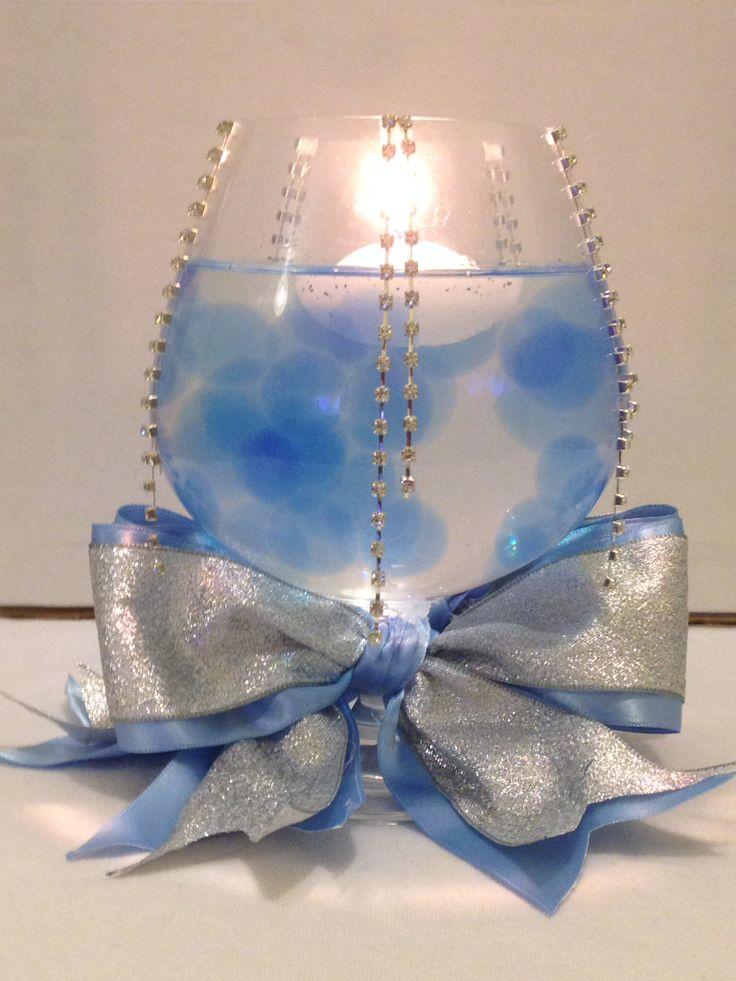 Alternative centerpiece for Cinderella Theme Wedding 49