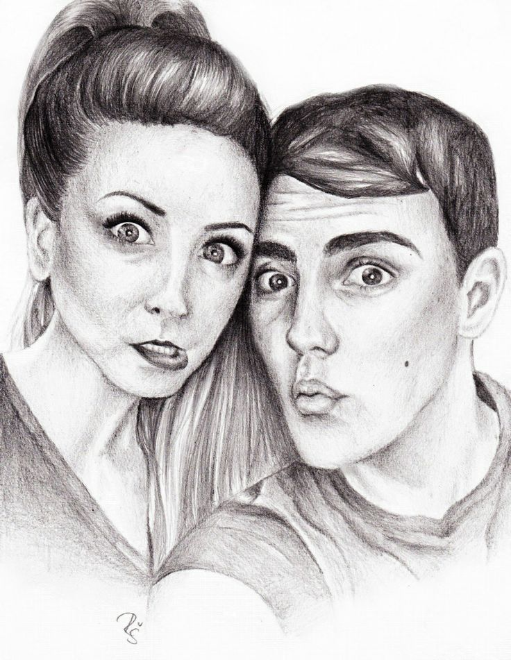 Best Zalfie Drawing Ever!!!
