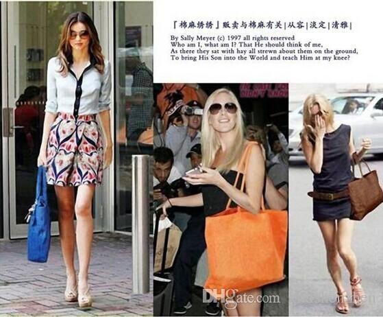 Best Price Online! Wholesale Summer Basic Style Beach Bag Colorful Shop Bag Crochet Bag Straw Bag Women Classic Straw Bag Shoulder Bag Tote Red Purse Discount Handbags From Kikishenzhen, $41.71| Dhgate.Com
