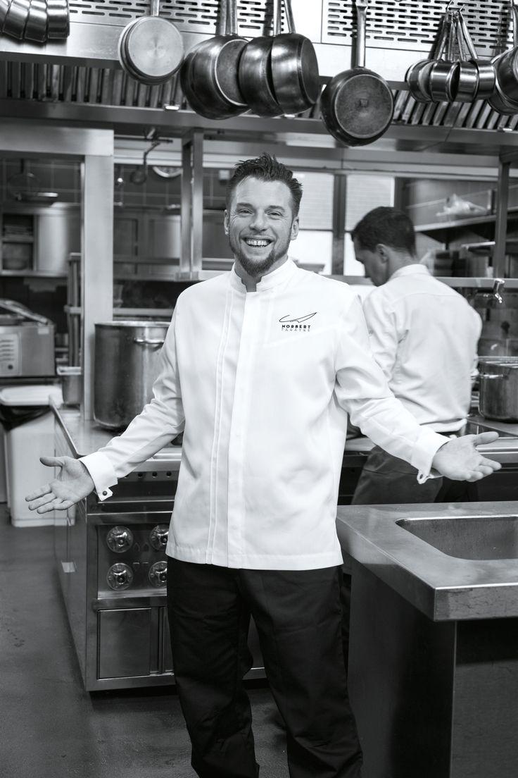 Norbert tarayre en veste de cuisine robur v tements de cuisine robur en 2019 pinterest - Vetement de cuisine robur ...