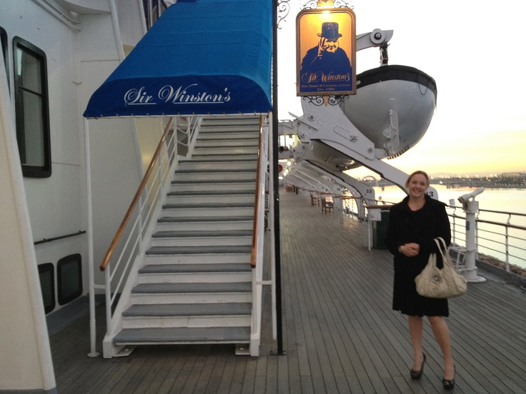 Sir Winston's Restaurant On The Queen Mary