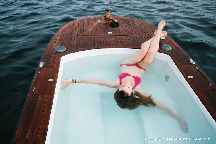 Cameron zegers photo shoot hot tub boats hot tub