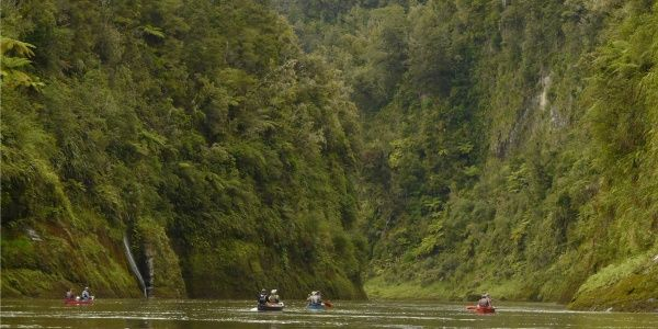 Journeys on the Whanganui River. The Whanganui River is a major river in the North Island of New Zealand. It is the country's third-longest river, and has special status owing to its importance to the region's Māori people.  Length: 290 km Source: Mount Tongariro Mouth: Tasman Sea Country: New Zealand