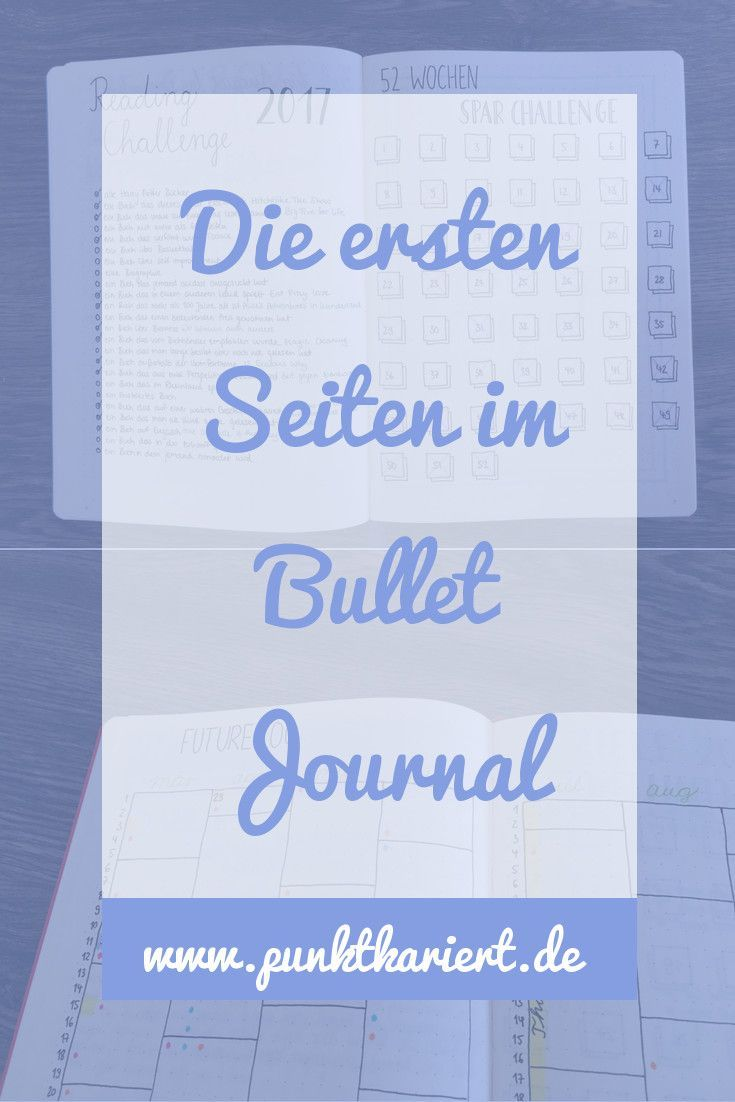 die ersten seiten im bullet journal 6 m glichkeiten. Black Bedroom Furniture Sets. Home Design Ideas