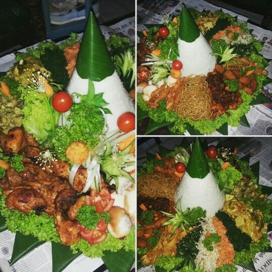 It's called tumpeng. For celebrating
