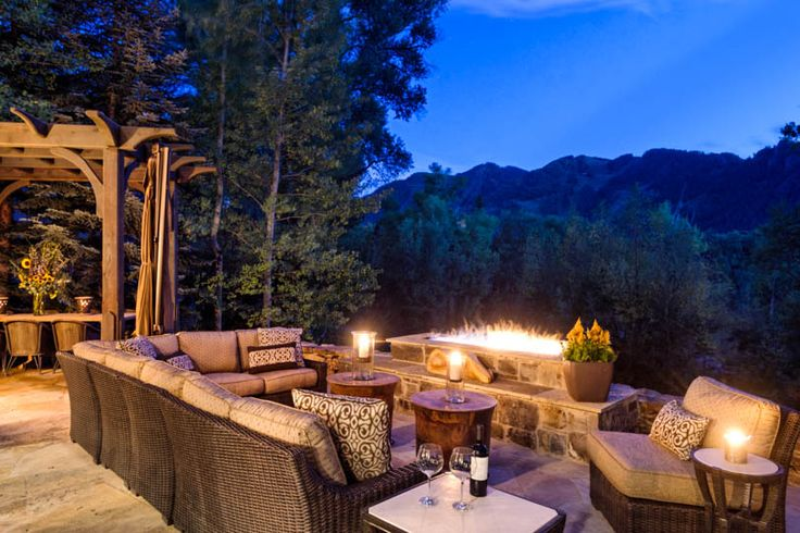 Aspen Log Cabin Colorado Greater Aspen Luxury