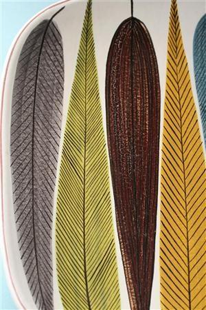 Stig Lindberg, love the feather illustrations