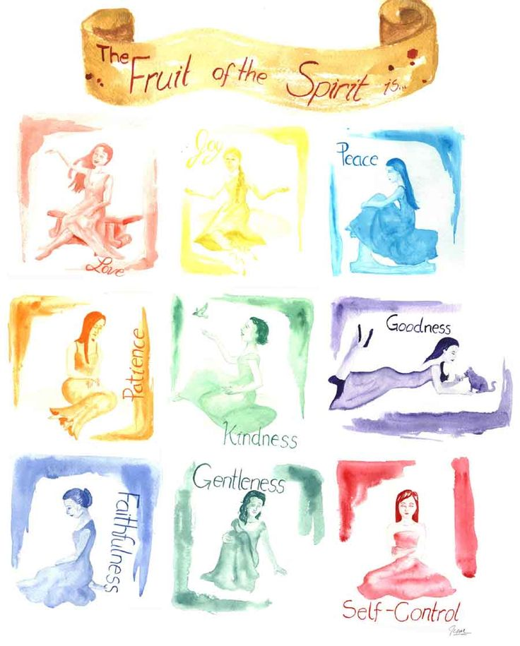 The Fruit of the Spirit by ~Ladywood on deviantART