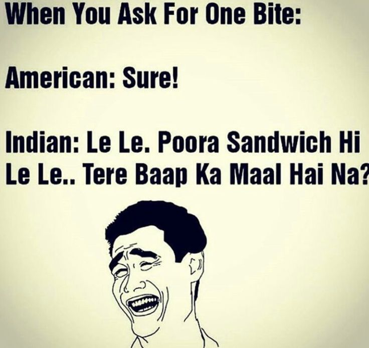 Being indian...