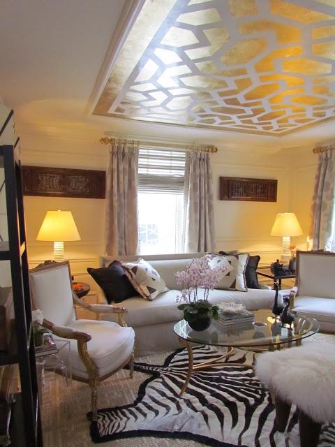 Barbara Ostrom Kips Bay Decorator Show House http://dec-a-porter. Ceiling  DesignRoom MakeoversDecor Interior ...