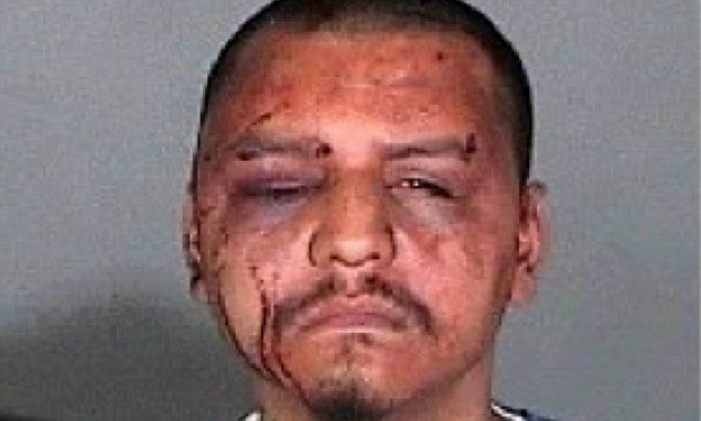 US District Judge George King ordered former Sgt Eric Gonzalez to be taken into custody immediately on Monday after he was convicted on a number of charges related to the 2011 beating of Gabriel Carrillo.