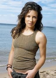 Evangeline Lilly... I think she is beautiful and LOVE her as Kate on LOST
