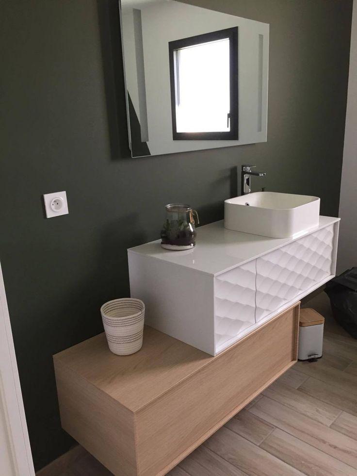 Craquez pour cet ensemble de meubles de salle de bain scandinaves