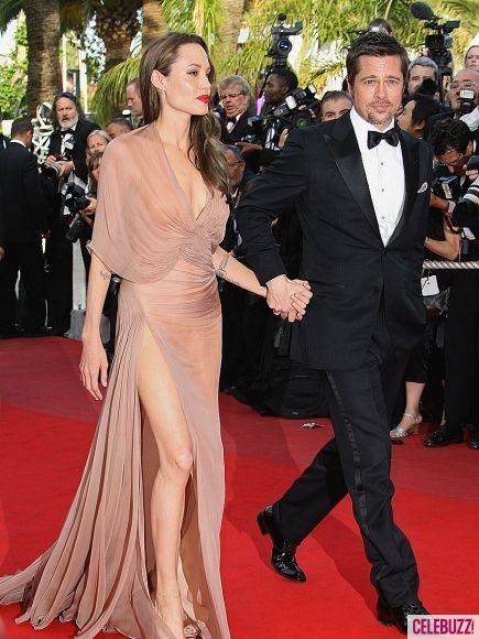 Angelina Jolie Photos - Angelina Jolie's Slit Dress Styles - 6 - Celebuzz
