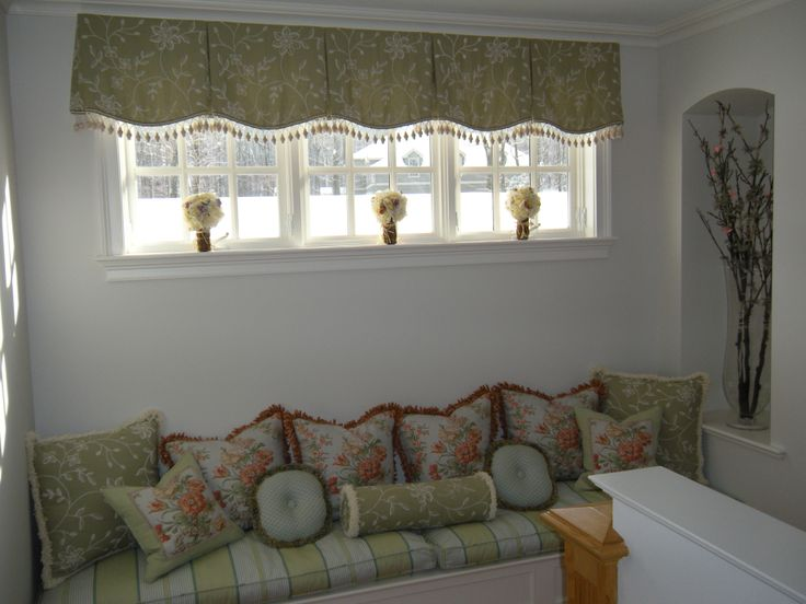 1000 Images About Box Pleated Valances On Pinterest