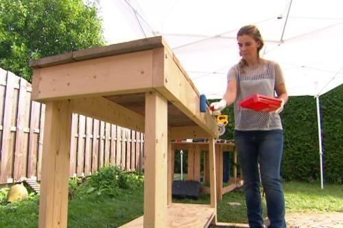 Maak je eigen oppottafel eigen huis en tuin tekening for Hoofdbord maken eigen huis en tuin