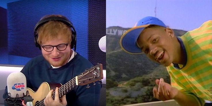 Ed Sheeran arrasa cantando tema de abertura de Um Maluco no Pedaço