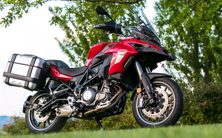 Download Wallpapers Benelli TRK 502, Superbikes, 2018