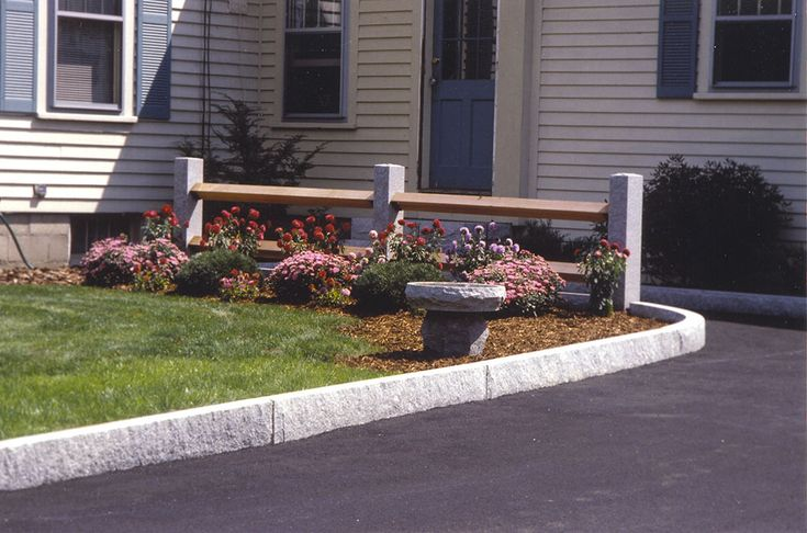 Driveway Ideas Residential Concord Gray Curbing