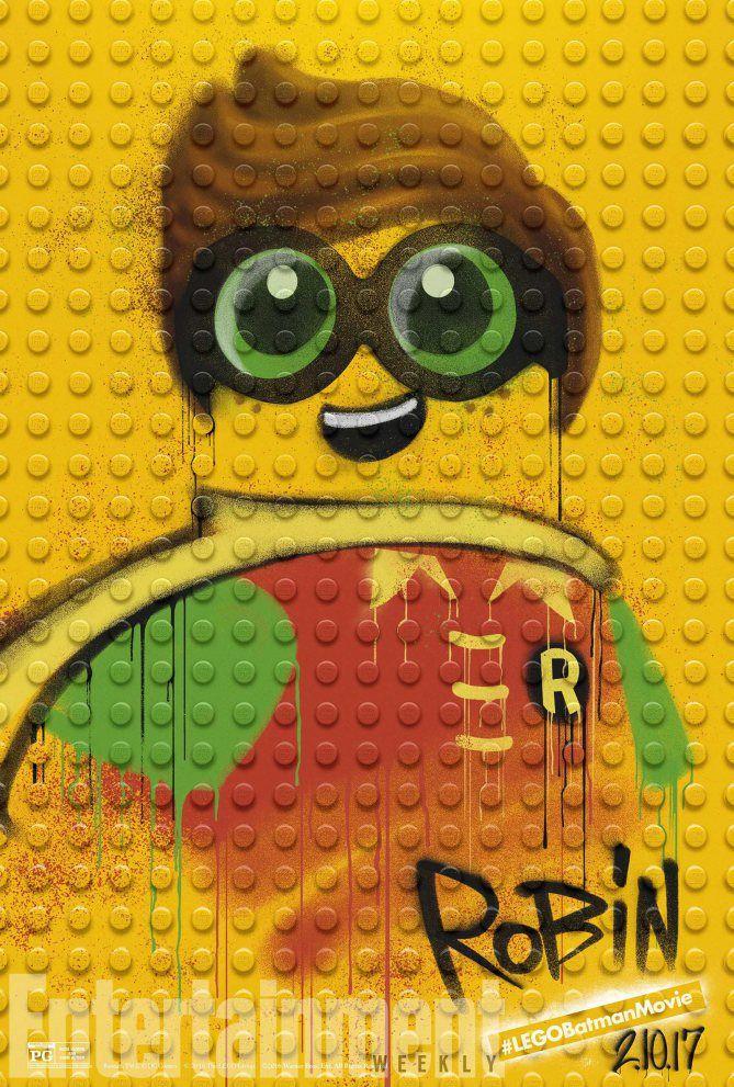 Robin is ready for action! #LEGOBatmanMovie