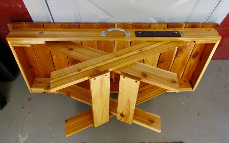 Handmade Folding Grill Table Folding Camping Table