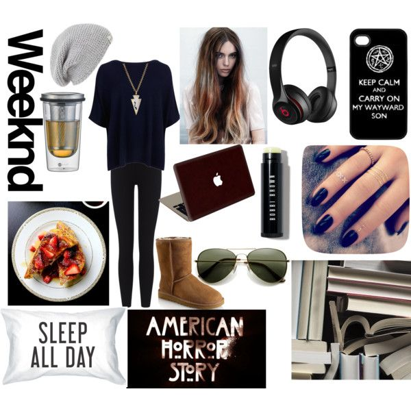 ~My Weekend Tragedy~ by annabellalom on Polyvore featuring Ted Baker, James Perse, UGG Australia, Panacea, Valentine Goods, Bobbi Brown Cosmetics, Lottie, Mr Perswall, Jenaer Glas and Beats by Dr. Dre