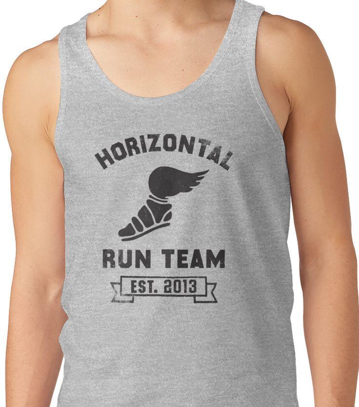 Horizontal Running Team, Est. 2013 Unisex Tank Top