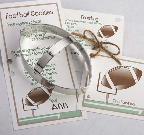 Football Cookie Cutter - Tin Cookie Cutters