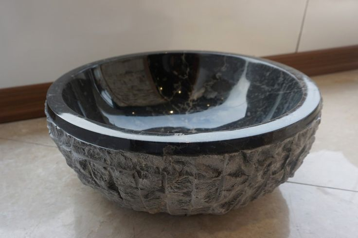 Atina Antik Blue Marble sink (DLT629) #naturalstone #sink #bathroomdesign