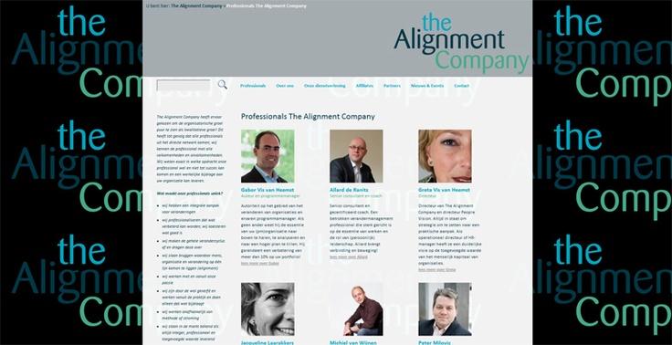 The Alignment Company, website voor dienstverlener in Leiderschap, artikelen over Leiderschap