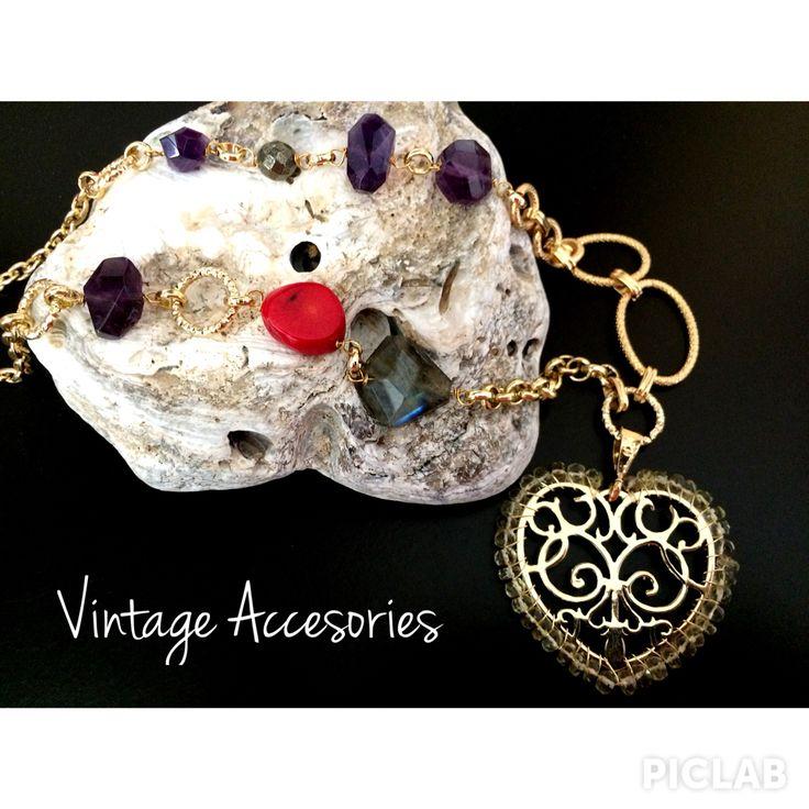 Medallones de piedras semipreciosas!!!