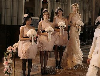 How to deal with difficult bridesmaids www.everythingbridalmagazine.com Courtesy: Gossip Girl