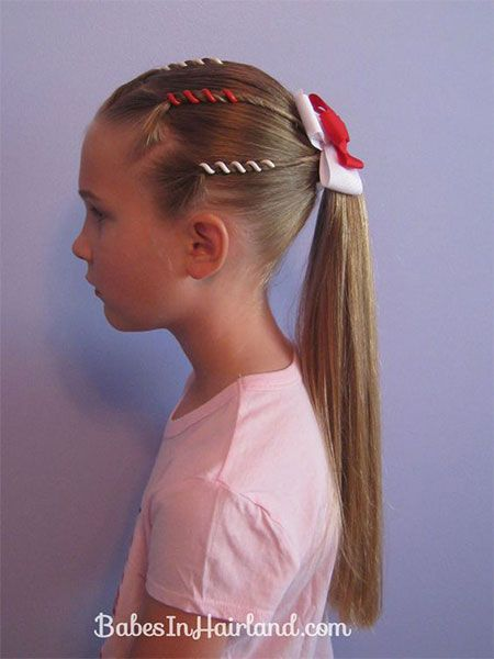 20+ 4th of July Hairstyles For Kids & Girls