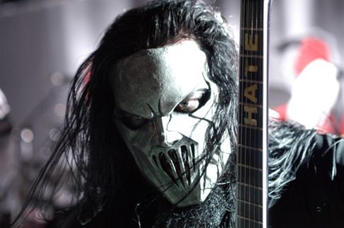 Slipknot became famous for the unique masks each of the nine members wears onstage