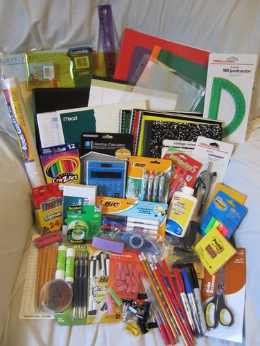 ULTIMATE BACK TO SCHOOL SUPPLIES LOT *ALL THE ESSENTIALS! MIDDLE & HIGH SCHOOL