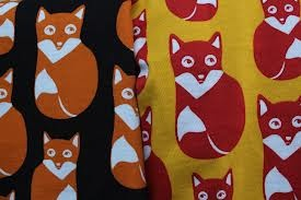 nosh kankaat - Google-haku  suosikki kankaani on tämä kettu kuvioitu kangas.