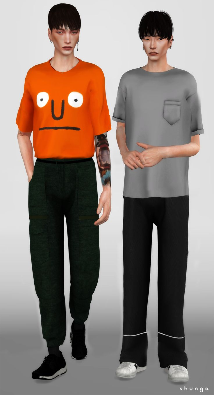 men clothing - The Sims 4 CC