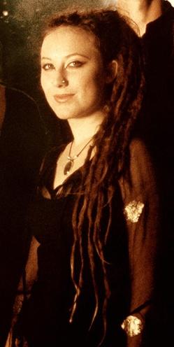 Faun band member Elisabeth Pawelke.