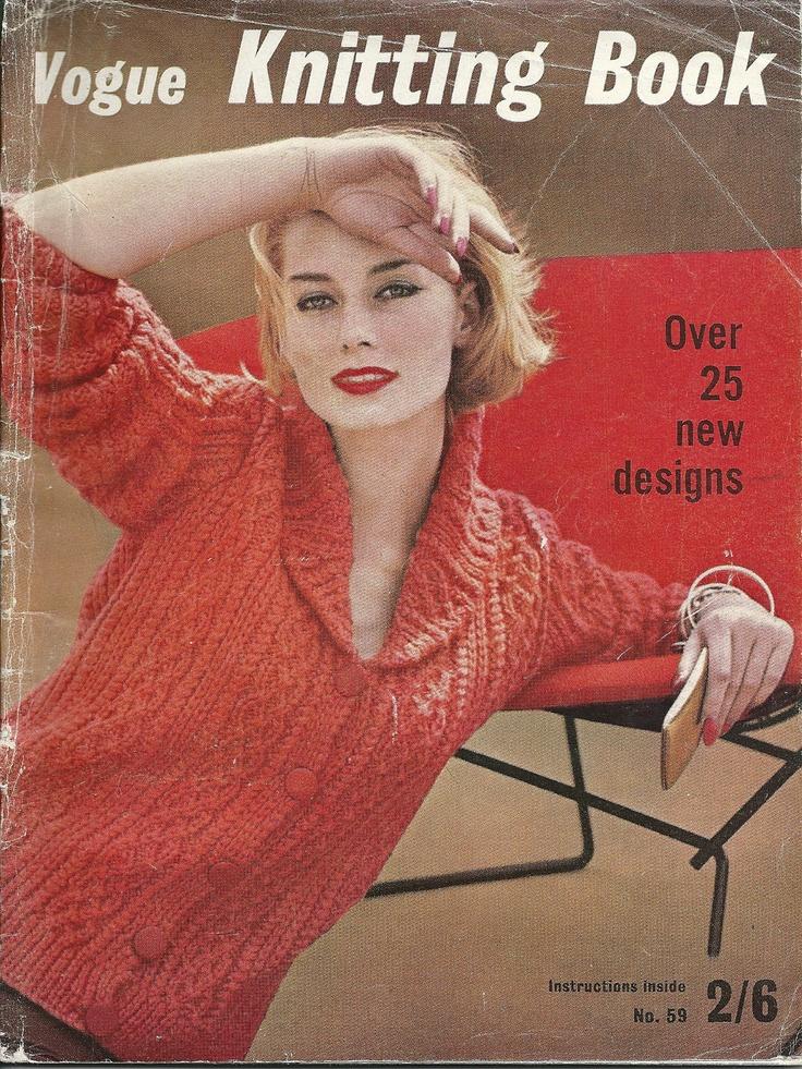 Vogue Vintage Knitting Patterns : 17 Best images about Vintage Croche on Pinterest Vintage knitting, Patterns...
